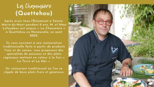 Le Chef Philippe Lefaudeux